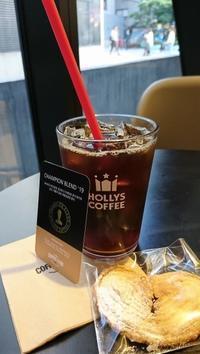 35. HOLLYS COFFEE の2019年チャンピオンブレンドコーヒー@ソウル・宣陵 - カステラさん