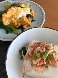 お豆腐肉団子のトマト煮 - Fran とDomagkのテーブル日記