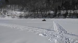 1月21日の桧原湖 - 桧原湖 森と川の声  もうひとつの故郷 森川荘