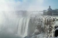 真冬のナイアガラの滝 - tats@Blog