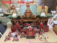 【雛御殿飾り】 - 人形修理職人ネットワーク福田匠庵 匠の工房便り