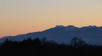 日の入りを逃した黄昏時の八ヶ岳狙いすぎた表現の卑しさ - Maystorm Journal                    寺山 光廣