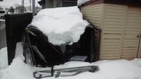 豪雪の爪痕 - オイラの日記 / 富山の掃除屋さんブログ