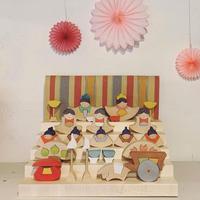 小黒三郎さんの組み木の雛人形と五月人形について (2021年) - curiousからのおしらせ