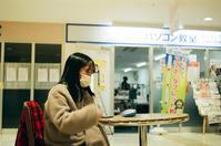 ノ―ファインダーで撮った受験生と宇都宮大学の二次試験中止 - 照片画廊