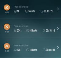 1/21 今日も素振りした、走った、今日もまた - シニアのバドミントン練習ブログ