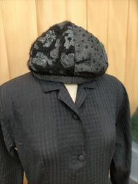 黒い木綿のワンピース - warmheart*洋服のサイズ直し・リフォーム*