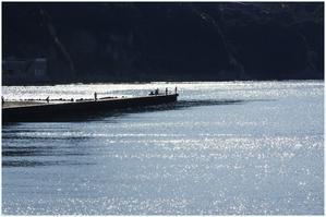 江の島・西浜から - 湘南の光に