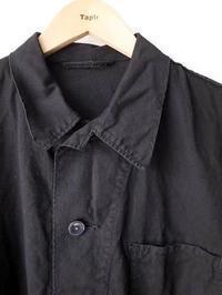 ドイツ軍 ワークジャケット BLACK DEADSTOCK - 【Tapir Diary】神戸のセレクトショップ『タピア』のブログです