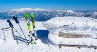【越美山地】~スキーで絶景の頂上から重雪の谷を滑る  ~ - 流雲 蒼穹 風に吹かれて