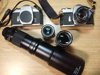 半世紀ぶりに蔵出しカメラです - スポック艦長のPhoto Diary