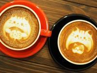 『杜のカフェCREMA』のかわいいラテアート - marianne memorandum