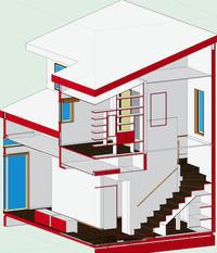 設計を2DからBIMに移行してみる - アトリエMアーキテクツの建築日記