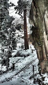 岩にしみいる雪の音 - 風の香に誘われて 風景のふぉと缶