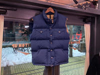 70's~ THE NORTH FACE down vest - BUTTON UP clothing
