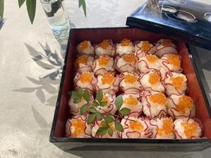 レディサラダの手毬寿司 - sweet+