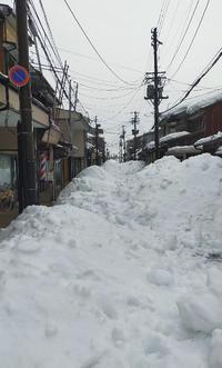 20210124 【豪雪】一斉雪下ろし二日目の朝 - 杉本敏宏のつれづれなるままに