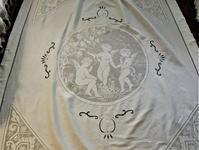 コットンフィレレース入りカーテン181 - スペイン・バルセロナ・アンティーク gyu's shop