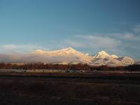 雪晴れの朝 - 八ヶ岳 革 ときどき くるみ