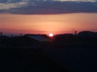赤い太陽 - 日々の風景