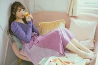 【櫻坂46】渡辺梨加さんのかわいさ溢れ出す♡ ニット×フレアースカートコーデ - *Ray(レイ) 系ほなみのブログ*