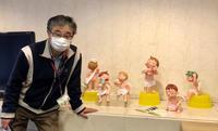 老人ホームに人形設営 - 図工舎 zukosya blog