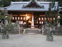 大阪 太子町 科長神社(しながじんじゃ) 夕刻 - 魅せられて大和路