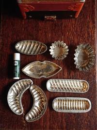 菓子型いろいろ - CELESTE アクセサリーと古道具
