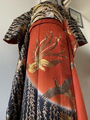 火の鳥🔥振袖 - 着物でパリ