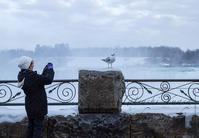 真冬のナイアガラの滝5 - tats@Blog