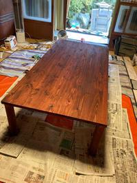 テーブル製作 - 林道部のピアノマン