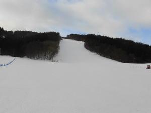 令和3年1月27日(水)天気/曇 気温/2℃ 風/無 積雪/50㎝ 滑走可能 - 奥州市越路スキー場