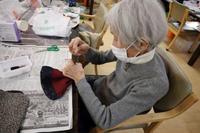 リメイク手芸~ ネクタイの巾着ポーチ ~ - 鎌倉のデイサービス「やと」のブログ