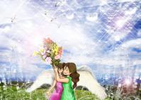 ★心に花束を - 羽根をつけて
