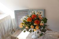 1月レッスンレポ - mille fleur の花とおやつ