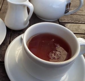 寒い日の紅茶 -