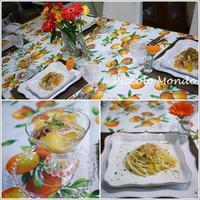 オレンジ尽くしメニューのサロンレッスン♪ - Romy's Mondo ~料理教室主宰Romyの世界~