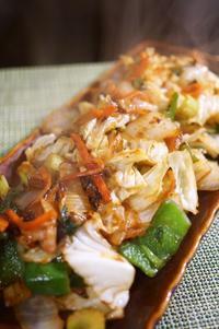 ■簡単5分・朝おかず【有る物でドーンとベーコン入り野菜炒め】 - 「料理と趣味の部屋」