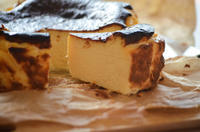 バスクチーズケーキとクランベリー食パン - ゆずぱん日記