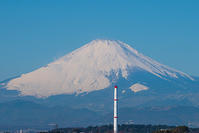 藤沢から見た富士山 - エーデルワイスブログ