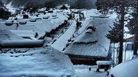 雪の大内宿 - 風の香に誘われて 風景のふぉと缶