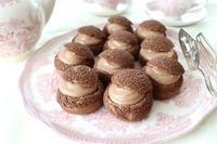 チョコレートのシュークリーム - 杉並区お菓子教室「jardin de l'abbaye 」ブログ
