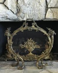 アンティークの暖炉スクリーン♪ - アンティークな小物たち ~My Precious Antiques~