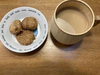今日のおやつ2021.02.01.低糖質クッキー - のらりくらりと
