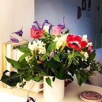 パリのマルシェの花屋さんと、15ユーロのブーケ - keiko's paris journal                                                        <パリ通信 - KSL>