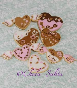 バレンタインアイシングクッキーのクラスを開催します💕 - シュガークラフトアーティスト Mihoの気ままなブログ
