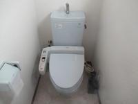 足立区HMU寄宿舎水廻りトイレ便器交換工事 - 一場の写真 / 足立区リフォーム館・頑張る会社ブログ