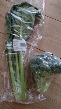 ロンドンで小松菜 - 期間限定 ロンドン生活 日々コレ日常