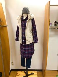 サッと羽織れる超定番⭐︎シャツワンピースStyle - Bashamichi's Blog