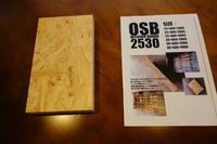 OSB4000x600x25mm - SOLiD「無垢材セレクトカタログ」/ 材木店・製材所 新発田屋(シバタヤ)